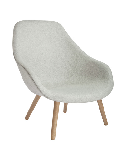 HAY About A Lounge Chair High/Soft AAL92 stoel