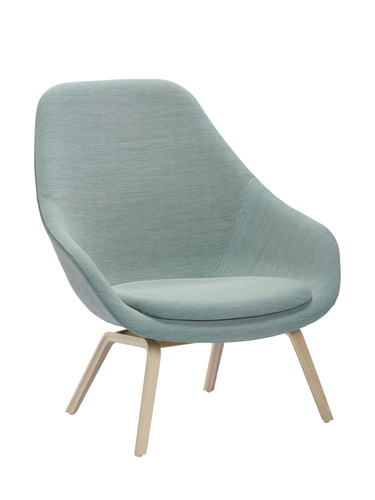 HAY About A Lounge Chair High AAL 93 stoel