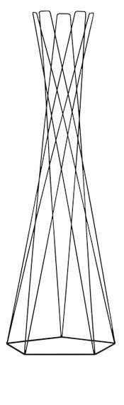 Cascando Basket kapstok
