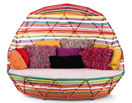 Moroso Tropicalia Day Bed ligbed incl 7 kussens