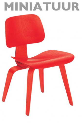 Vitra DCW stoel miniatuur