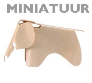 Vitra Eames Elephant miniatuur