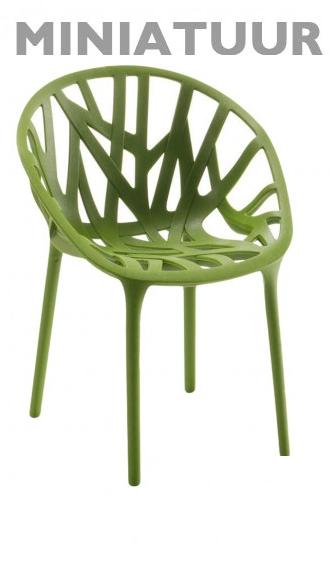 Vitra Vegetal stoel miniatuur