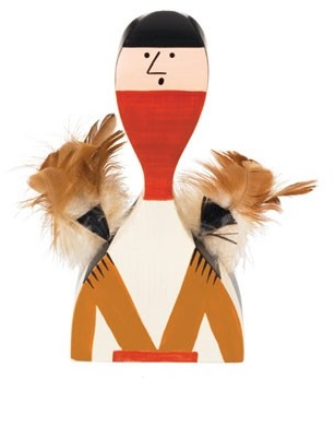 Vitra Wooden Dolls No. 10 pop