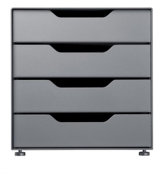 Cascando Box01 Storage Box Four opbergsysteem
