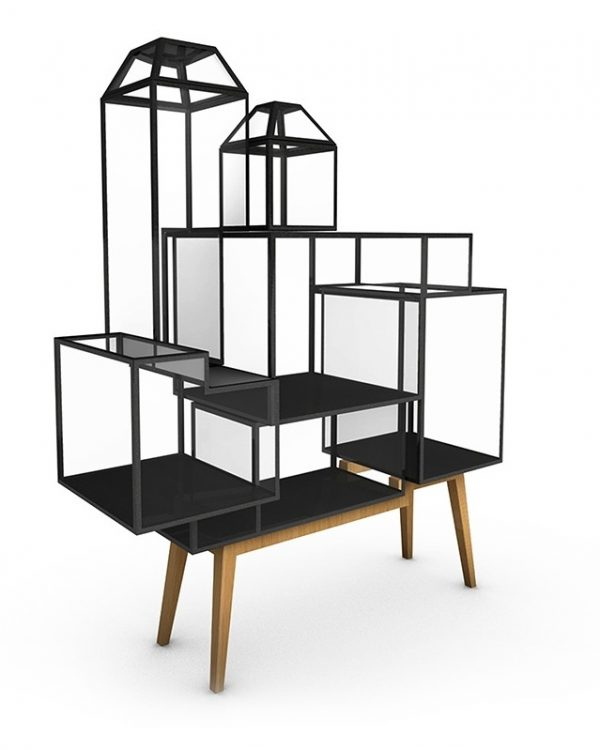 JSPR Steel Cabinets vitrinekast #7