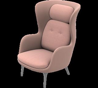 Fritz Hansen Ro JH1 fauteuil