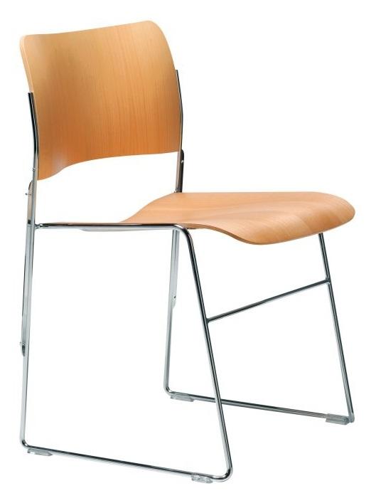 Howe 40/4 stoel hout