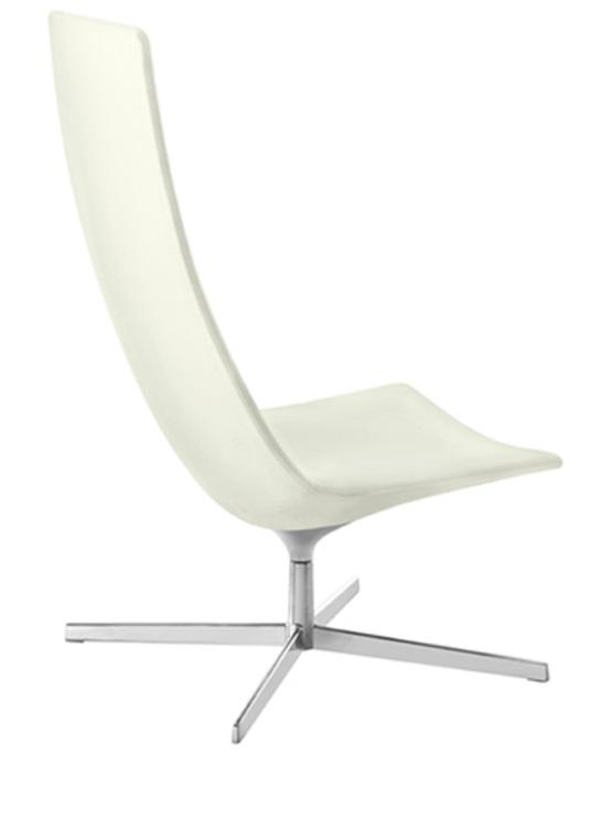 Arper Catifa 60 loungestoel met hoge rugleuning