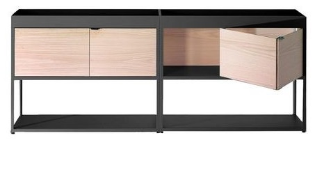 HAY New Order dressoir met 2 schuifdeuren