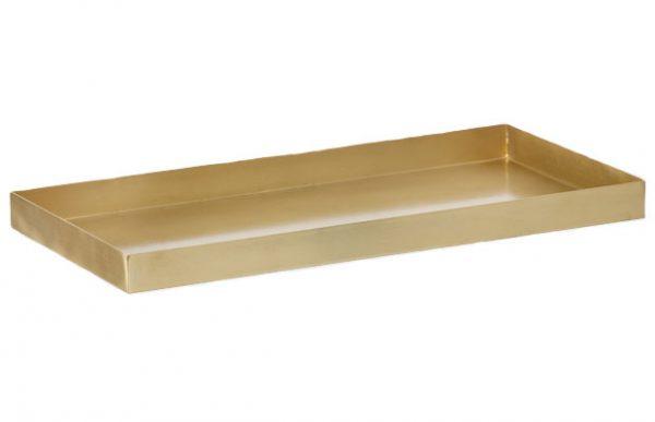 ferm LIVING Brass Tray schaal
