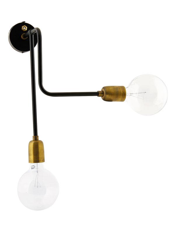 House Doctor Molecular wandlamp