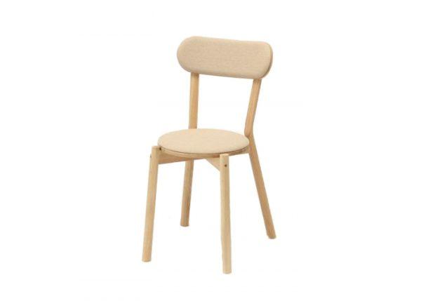 Karimoku New Standard Castor stoel met zitkussen