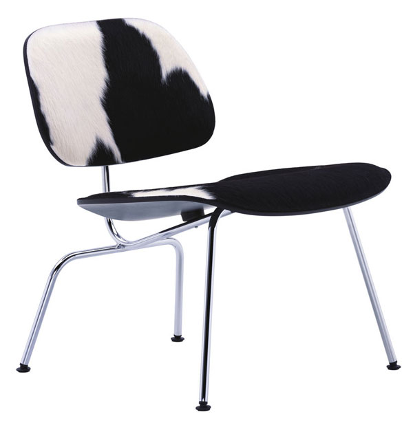 Vitra Plywood LCM Calf's Skin stoel