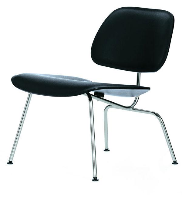 Vitra Plywood LCM Leather stoel