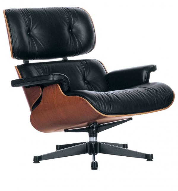 Vitra Eames Lounge Chair klassieke hoogte