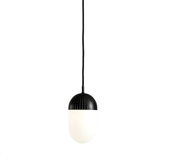 Woud Dot Pendant hanglamp zwart