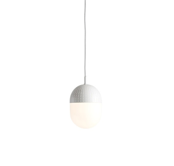 Woud Dot Pendant hanglamp wit