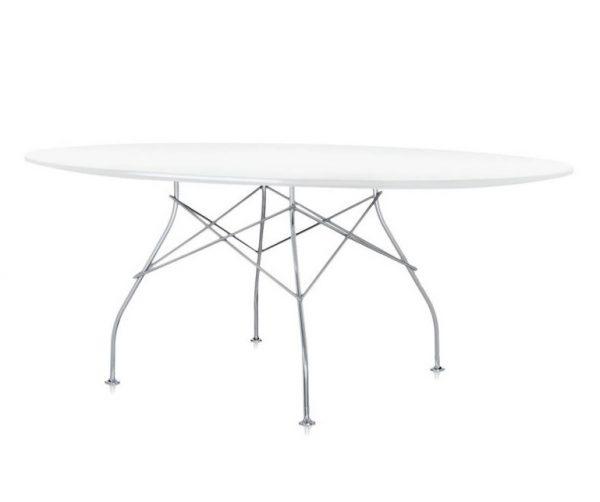 Kartell Glossy ovale tafel