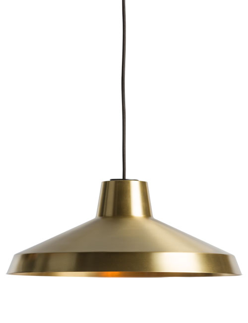 Northern Lighting Evergreen hanglamp brass
