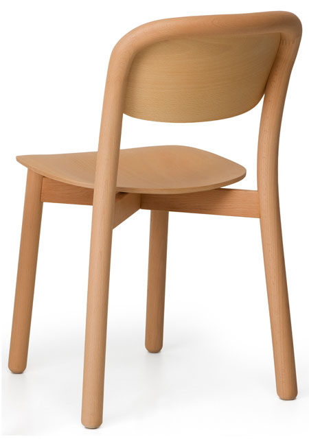 DUM Beech Chair Back stoel