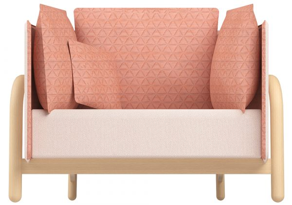 DUM Beech Private loveseat