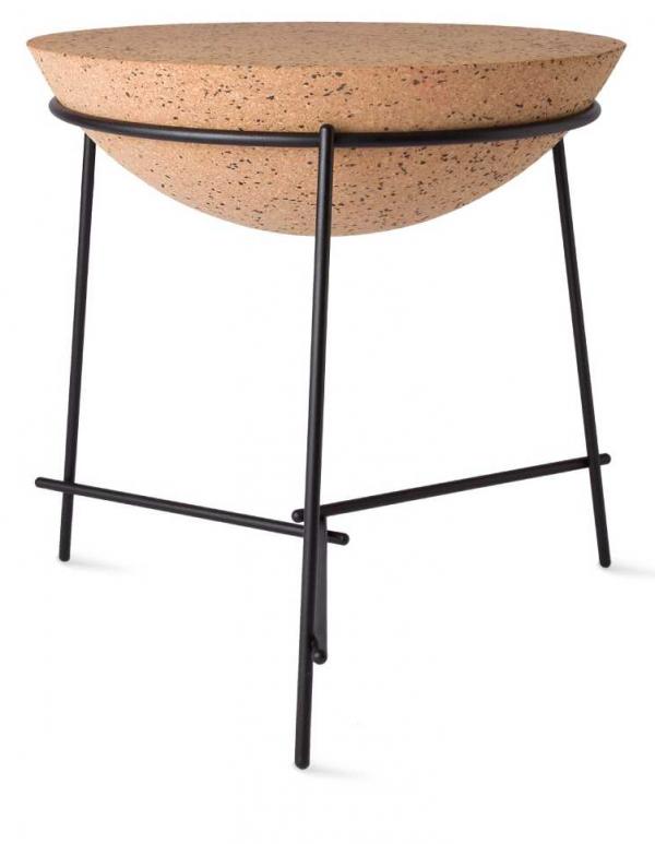 Petite Friture Basil Sphere bijzettafel zwart