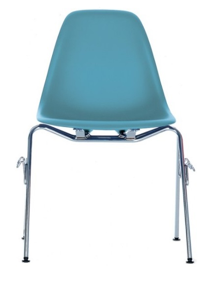 Vitra Eames Plastic Side Chair DSS stoel