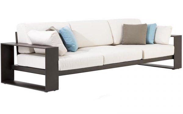 Andreu World Landscape Alu sofa