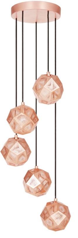 Tom Dixon Etch Mini Chandelier hanglamp