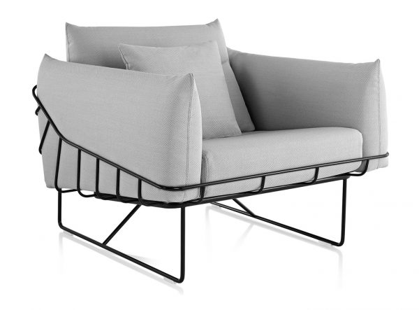 Herman Miller Wireframe Club Chair fauteuil