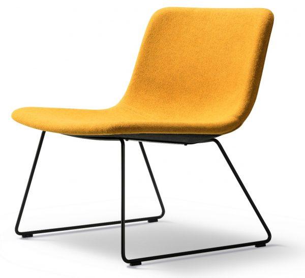 Fredericia Pato Lounge Sledge stoel