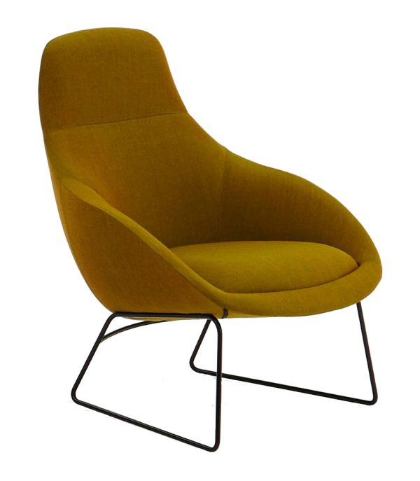 naughtone Always Lounge slede fauteuil
