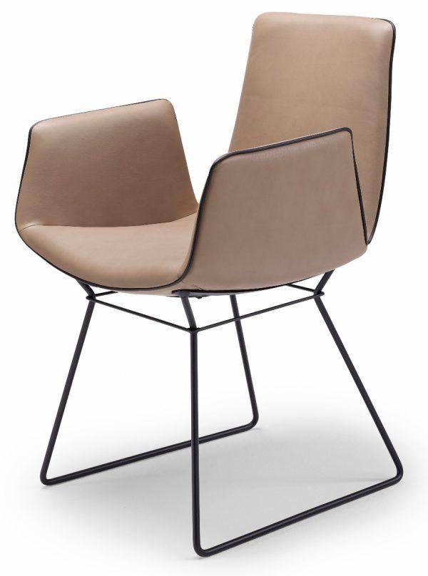 Freifrau Amelie Armchair Wireframe stoel
