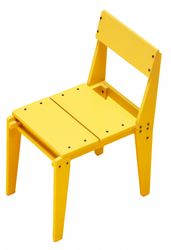 Floris Hovers Plankmeubels stoel