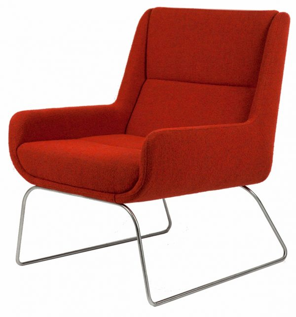 naughtone Hush Low fauteuil slede