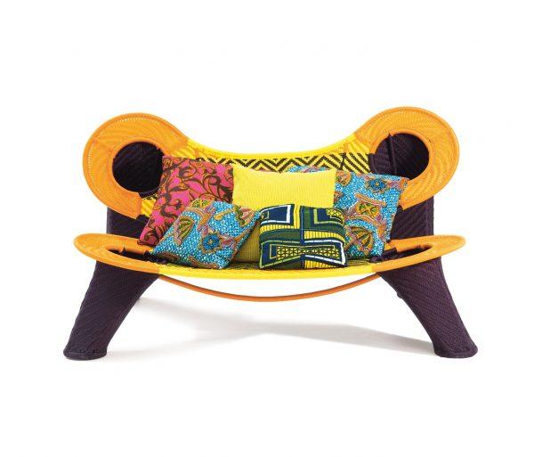Moroso Madame Dakar sofa outdoor