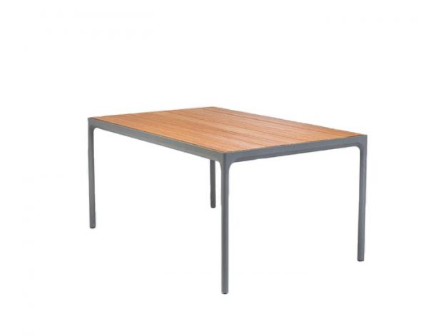 Houe Four bamboe tafel outdoor