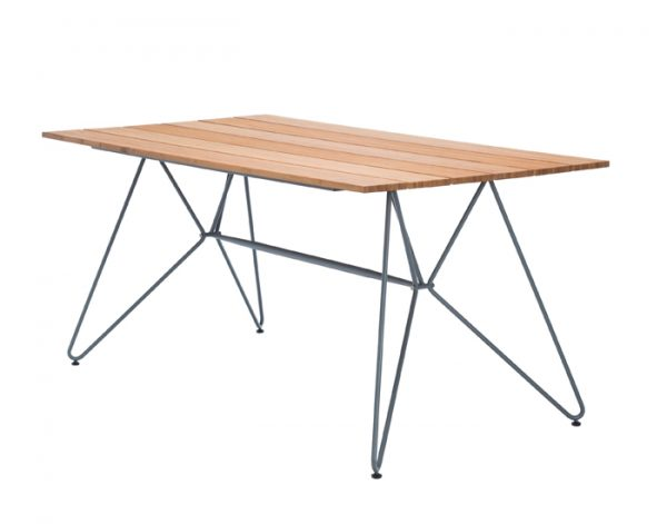 Houe Sketch bamboe tafel outdoor