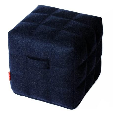 BuzziSpace BuzziKidz Cube 3D poef