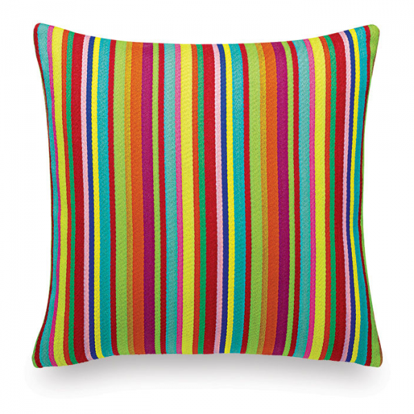 Vitra Millerstripe multicolored bright kussen