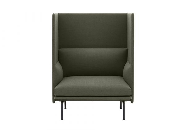 Muuto Outline Highback bank