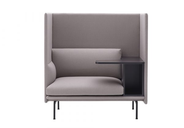Muuto Outline Highback Work bank