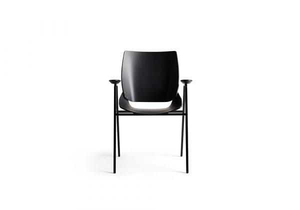 Rex Kralj Shell Wood stoel